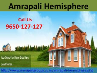 Amrapali Hemisphere At Greater Noida