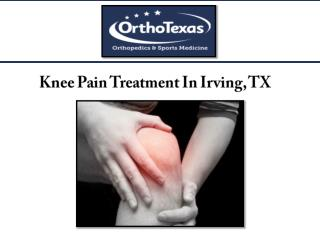 Knee Pain Treatment In Irving, TX
