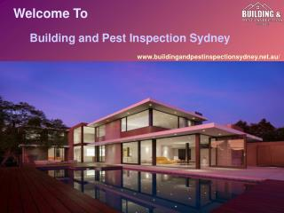 Pest Inspection Service and Building Inspections Sydney