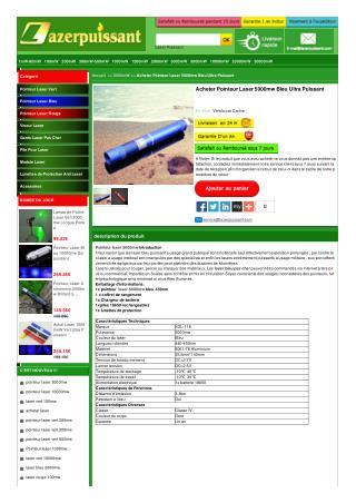 pointeur laser puissant 5000mw