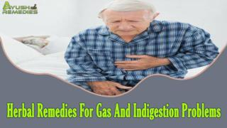 Herbal Remedies For Gas And Indigestion Problems