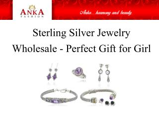 Sterling Silver Jewelry Wholesale - Perfect Gift for Girl