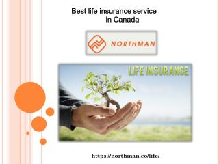 Best life insurance service in Canada
