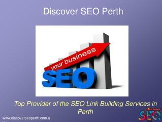 Link Building Services offer by Discover SEO Perth