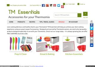 TM Essentials Accessories for your Thermomix