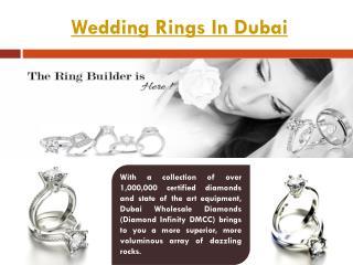 Wedding Rings Dubai