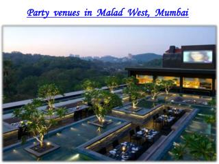 Banquet halls, Party halls in Malad-West, Mumbai