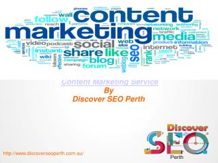 Content Marketing Services  in perth