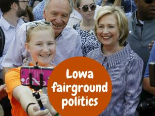 Iowa fairground politics