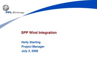 SPP Wind Integration