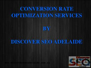 Conversion Rate Optimisation Services in Adelaide