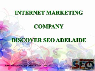 Internet Marketing Company in Adelaide