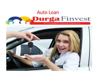 Auto loan in Delhi, Gurgaon