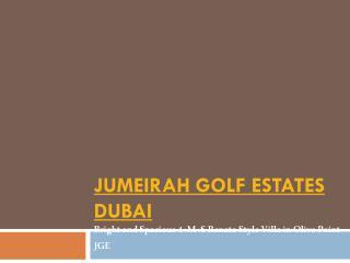 Jumeirah Golf Estates Dubai - Jumeirahgolf-estates.com