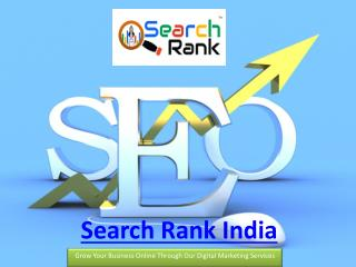 Top Website Promotion Services By Search Rank India