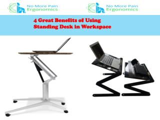 Benefits Standing Desk