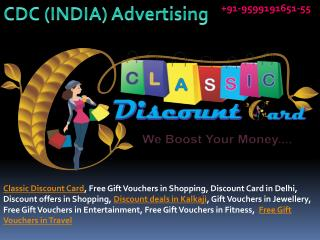 Classic Discount Card Provide Online Advertising in Delhi