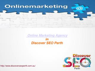 Online Marketing Agency in Perth