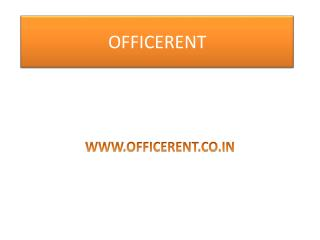 Office for rent in Noida sector 15