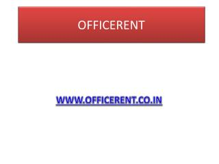 Office on rent in Noida sector 2