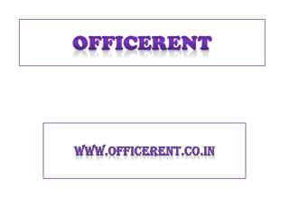 Office rent in Noida