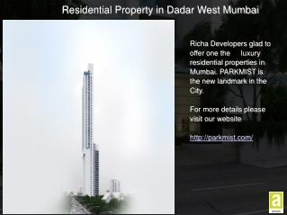 3 BHK Flats in Dadar West Mumbai
