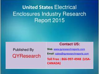 United States Electrical Enclosures Market 2015 Industry Analysis, Forecasts, Research, Shares, Insights, Growth, Overvi