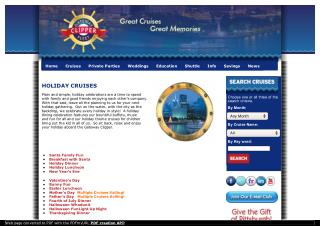 Holiday Cruises in Pittsburgh With Gateway Clipper Fleet