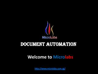 Accounting Solutions or Document Automation With Microlabs