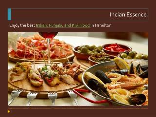 Food Delivery Hamilton - Indian Essence