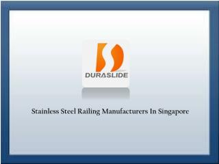 Stainless Steel Railing Manufacturers