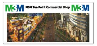 M3M Tee Point Commercial Complex -  Retail Shop, Commercial Shop and Office Spaces