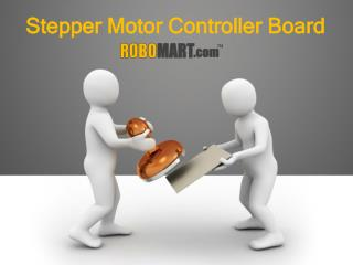 Robomart - Wireless Stepper Motor Controller Boards