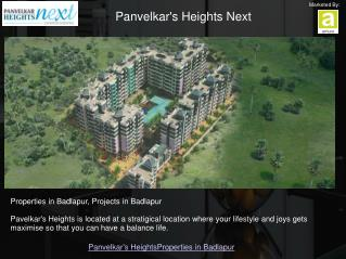 2 BHK Flats in Badlapur