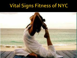 Vital Signs Fitness Yoga NYC Upper East Side