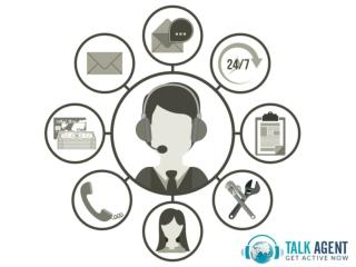 Live Chat Support Services from Talk Agent