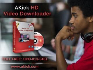 AKick Software -  Download Free HD Video Downloader