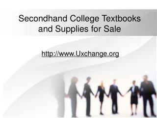 Secondhand College Textbooks and Supplies for Sale