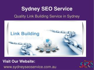 SEO Link Building Services Sydney | Quality Link Building Services Sydney