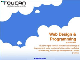 Web design & Programming By Toucan Web