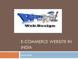 e-commerce website in India