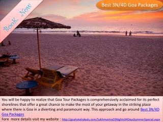 Best 3N/4D Goa Packages