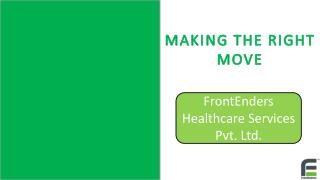 Healthcare Consulting firms India|Hospital Consultants|FrontEnders