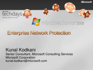 Enterprise Network Protection