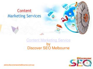 Content Marketing Services in Melbourne