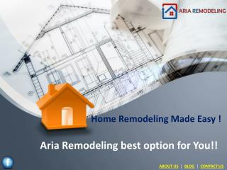 Home Improvement and Remodeling Services Las Vegas | Aria Remodeling