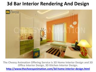 3D Home Interior Rendering And Design