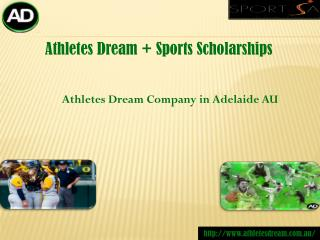 Athletes usa sports scholarship Agency