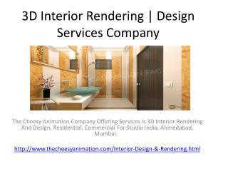 3D Interior Rendering | Design Services Company