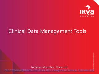 Clinical Data Management Tools